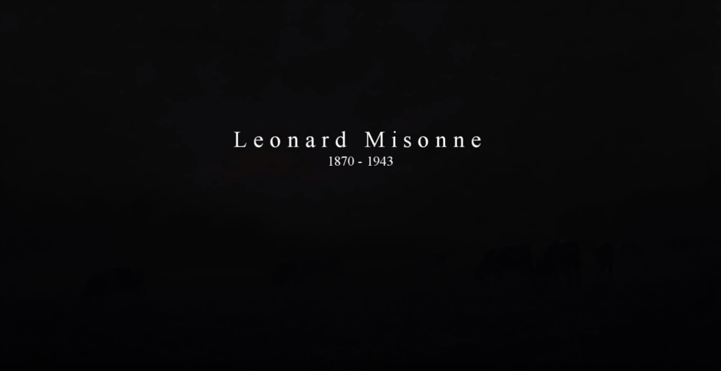 Leonard Misonne video